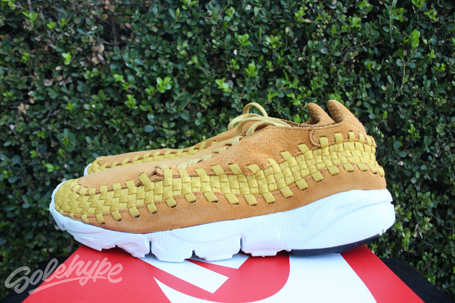 NIKE AIR FOOTSCAPE FOOTSCAPE FOOTSCAPE WOVEN NM SZ 12 DESERT OCHRE GOLD DART 875797 700 09e31d