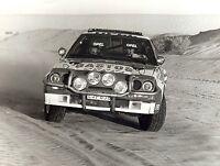 "1984 - OPEL ""Manta 400"" @ Paris-Dakar / ""Kadett GTE"" - Set 2 large works photos"