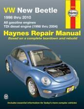 VW New Beetle Haynes Repair Manual for 1998 thru 2010 1.8, 2.0L, 1.9L TDI diesel