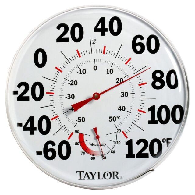 Taylor Temperature Humidity Gauge