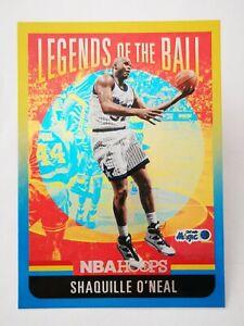 Panini Hoops 2020-21 N20 NBA Legends Of The Ball Shaquille O'Neal #5 Magic