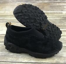 Merrell Winter Moc Women's Black Suede Loafer Slip On Comfort Size 6.5