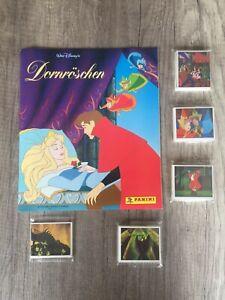 RARE Panini Sleeping beauty 1998 Disney Complete Empty Album all stickers loose
