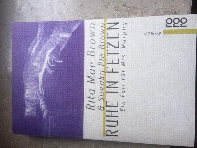 Ruhe in Fetzen - rororo - Roman von Rita Mae Brown -Taschenbuch 3499221047Murphy