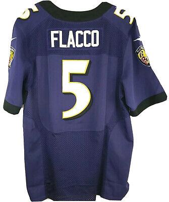 Nike Joe Flacco #5 Baltimore Ravens NFL Purple Football Jersey Size Adult 44 | eBay