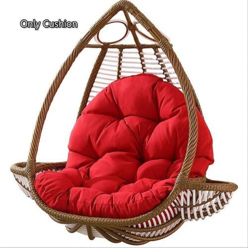 Hanging Rattan Swing Patio Garden Chair Weave Egg w// Cushion In Outdoor