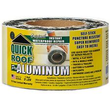 Quick Roof Qr325 Pro Aluminum Instant Waterproof Repair 3 X 25