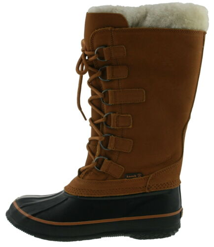 Kamik SNOWVIXEN Boots Winterstiefel waterproof Leder cognac 176004