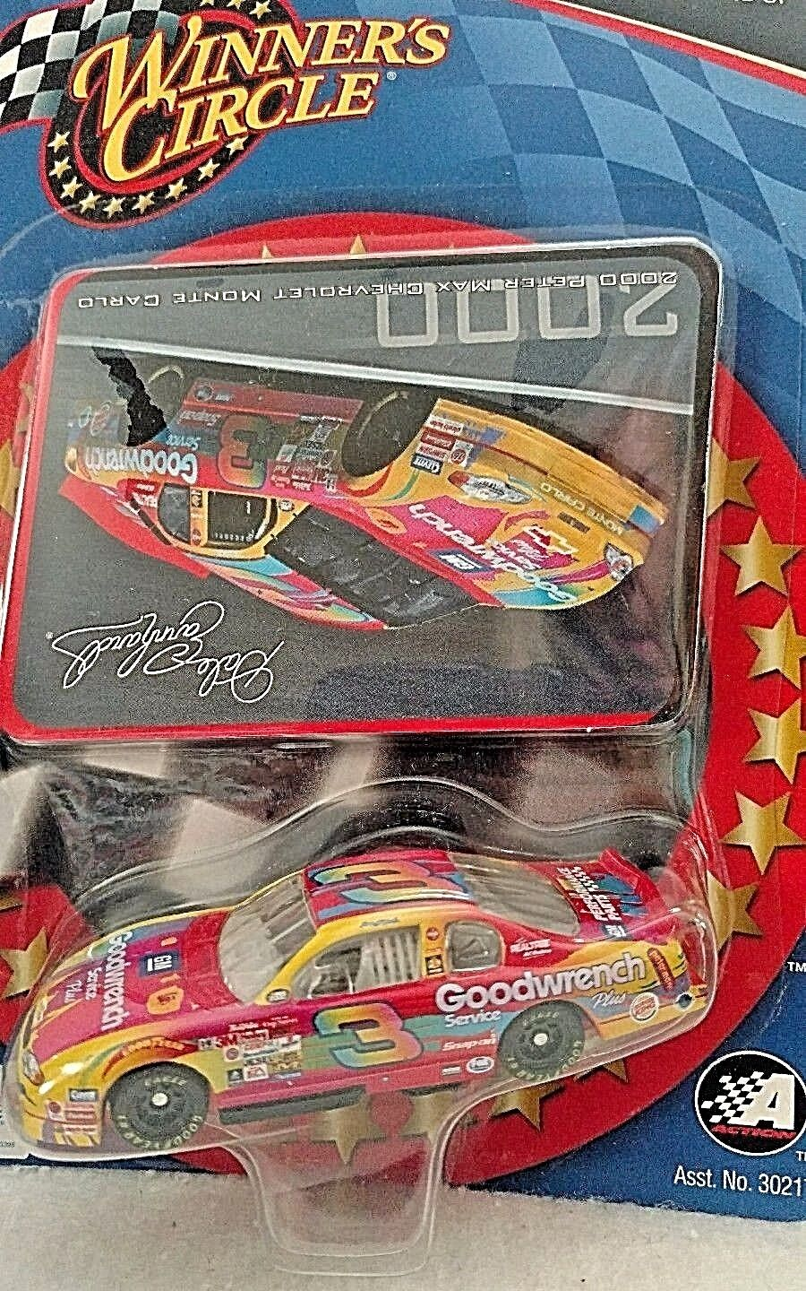 Rare Dale Earnhardt  3 GM Good-wrench Peter Max 2000 Chevrolet UPSIDE DOWN
