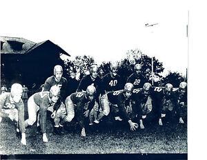 1976 NOTRE DAME  FOOTBALL 8X10 TEAM PHOTO  IRISH INDIANA USA