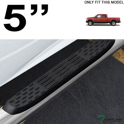 """For 99-16 FORD F-250 350 SuperDuty Crew Cab 4/"""" Oval Side Step Curved Nerf Bars B"""
