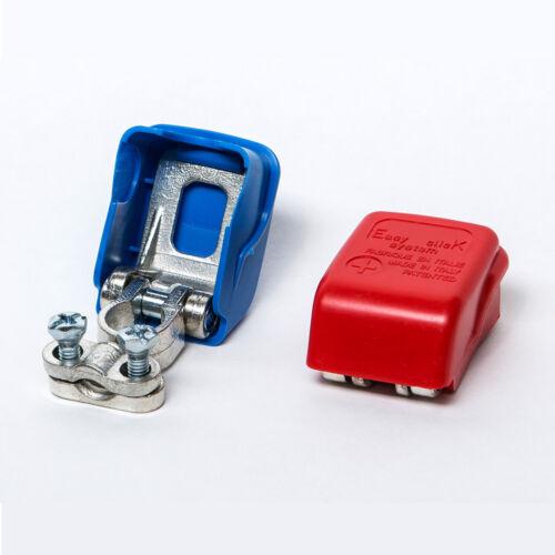 Autobatterie Schnellklemmen Polklemmen Batterieklemmen Boot KFZ PKW Easy Click ®