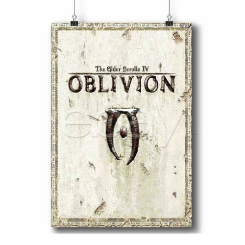 The Elder Scrolls IV Oblivion Custom Poster Print Wall Decor Art Personalized