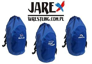 ce19197eca81 Image is loading Asics-Athletic-Drawstring-Wrestling-Gear-Bag-Backpack -Rucksack-