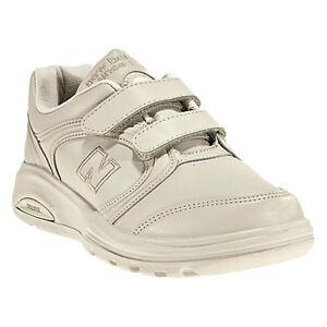 New Balance WW812VB Bone Velcro Walking Shoes 7