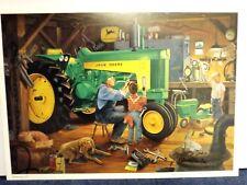 "Charles Freitag Restoration II John Deere Tractor Art Print  17/"" x 11/"""