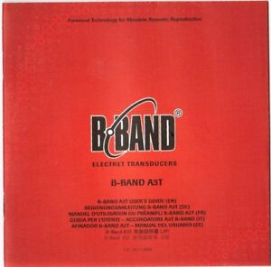 B-BAND-A3T-Users-Guide-Good-Condition