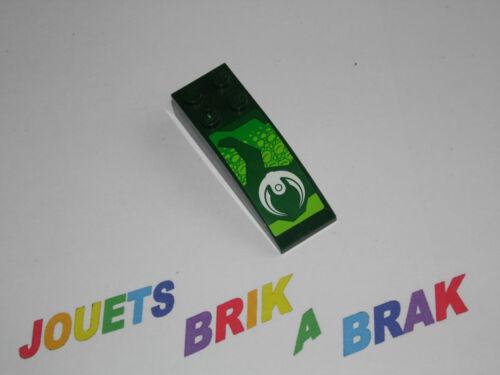 Lego 1 brique inclinée arrondie brick slope 2x6 choose color Stickers ref 44126