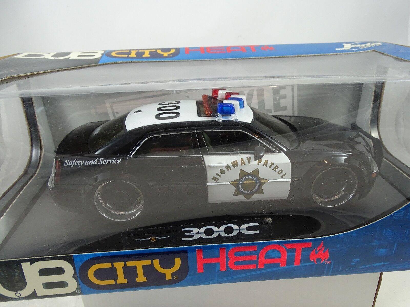negozio di vendita outlet 1 18 Jada Jada Jada CHRYSLER 300c Highway Patrol Safety Service Dub città  90569 rarità §  fornire un prodotto di qualità