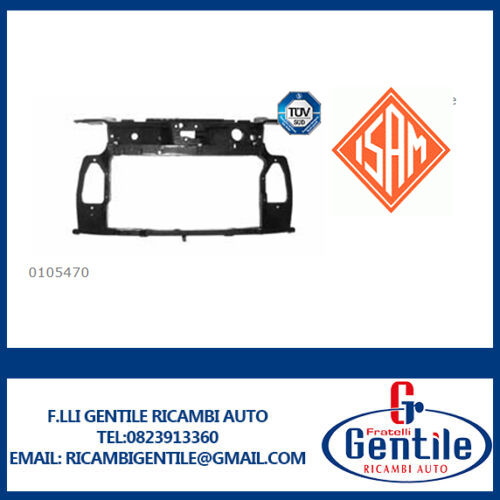 FRONTALE CALANDRA ANTERIORE FIAT PANDA DAL 2003 AL 2012