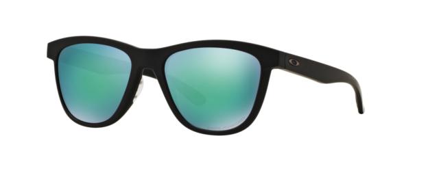100ef4e025 Oakley Moonlighter Matte Black Jade Iridium Polarized Sunglasses Oo9320 12