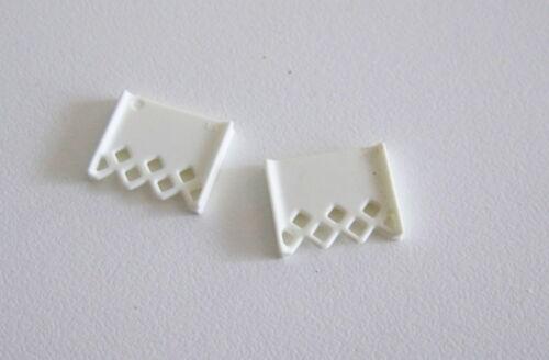4611 PLAYMOBIL Lot de 2 Rideaux Blancs pour Fenêtre Maison 3965 SYSTEMx