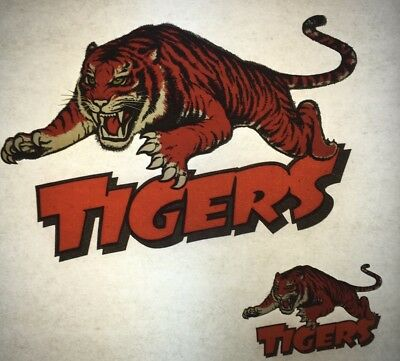 1980s NRL Australiana Balmain Tigers Rugby League vintage retro tshirt print