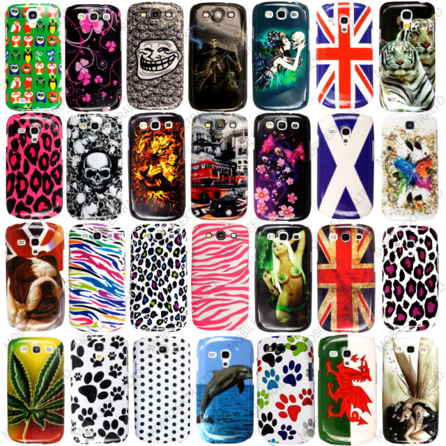 Printed Stylish Hard Back Case Cover For Various Samsung Mobile Phones+Stylus