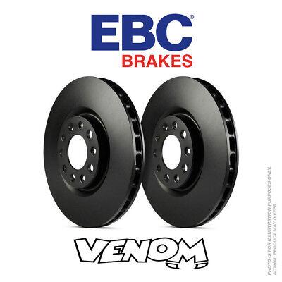 100% Vero Ebc Oe Dischi Freno Posteriore 265 Mm Per Renault Safrane 3.0 92-96 D715-