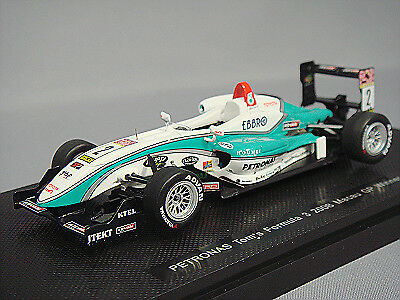 Ebbro 1:43 Petronas Tom's F308  2 2008 Macau Winner K. Kunimoto from Japan