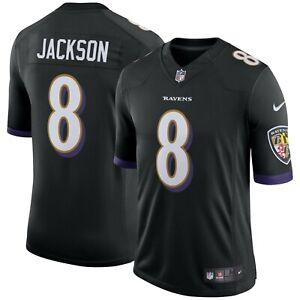 Lamar Jackson Baltimore Ravens Nike Youth Game Jersey - Black | eBay