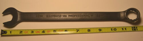 NEW PROTO USA made 1222MBASD 22mm Combination Wrench 12 point WL19E8