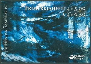 FAROE-ISLANDS-H24-Scott-417a-Art-of-Today-booklet-VF