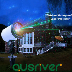 SUNY-Laser-Fairy-Star-Projector-Light-Xmas-Outdoor-Lawn-Landscape-RG-LED-Lamp