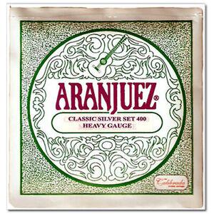 Aranjuez classical guitar strings Classic silver set Heavy Gauge 400
