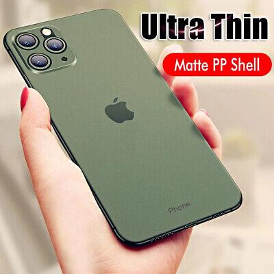 Cover For Iphone 11 Pro Max Case Ultra Thin Semi Transparent Slim Matte Ebay