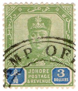 I-B-Malaya-States-Revenue-Johore-Duty-3