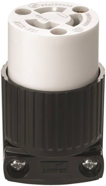 NEW COOPER WIRING L1420C 4 WIRE LOCKING TWIST FEMALE 20 AMP PLUG 125//250 6905129