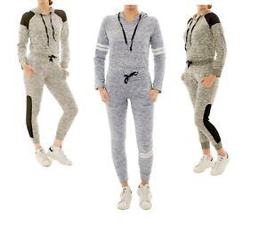 Icon-Apparel-Women-039-s-2pcs-set-Lightweight-Tracksuit-Jogger-Gym-Sweatshirt-Pants