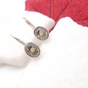 Amethyst-gruen-oval-Design-Ohrringe-Haenger-Ohrhaenger-925-Sterling-Silber-neu