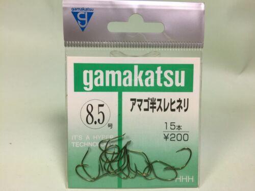 Gamakatsu AMAGO Trout Bait Hook #8.5 Green 15pcs Free shipping for each add