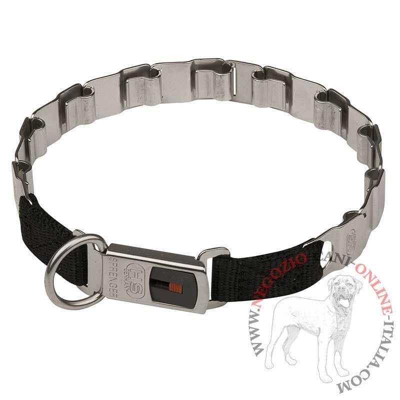 Collare a punte per cane grande, acciaio inox, Herm Sprenger, da 60 cm