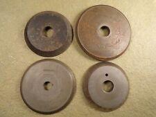 Lot Of 4 Key Machine Cuttercutting Wheel For Vintage Antique Key Machine Yale