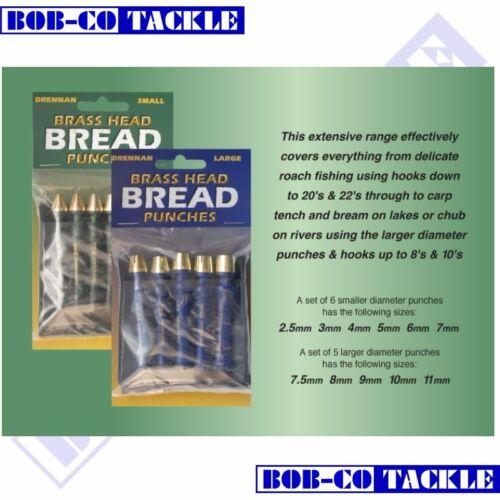 Drennan Brass Head Bread Punches