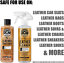 thumbnail 2 - Chemical Guys Leather Cleaner and Conditioner Complete Leather Care Kit (16 Oz)