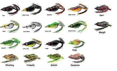 "River2Sea Frog River2Sea Bully Wa 2 55 Topwater Frog 2 1//4/"" Frog Bass Bait"