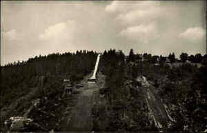 Oberhof-Turingia-AK-1957-DDR-partita-Turingia-ridotta-ridotta-medaglieolimpiche-opera