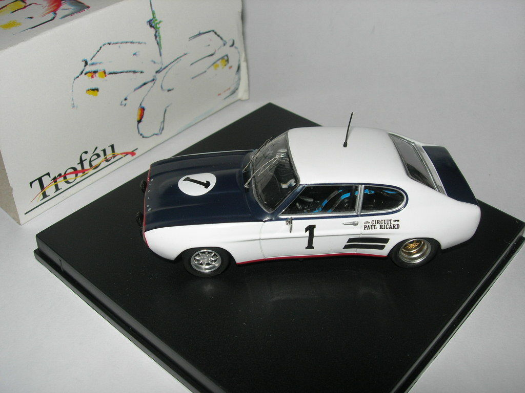 Trofeu Models 1 43 2313 Ford Capri 2600 RS  1 6H Paul Ricard 1971 NEW