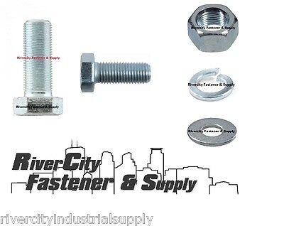 360 Piece 3//8-16 Grade 8 Bolt Lock Nut /& Washer Assortment Kit Nut