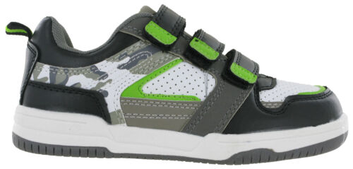 Ascot Trainers Boys Childrens Casual Touch Fasten Skate Style Trainers UK 8-2